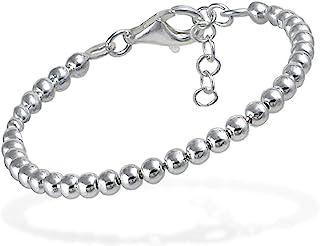 bracelet argent boule