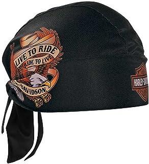 0b67af7ec0 Harley-Davidson Live to Ride Eagle Head Wrap Black HW00930