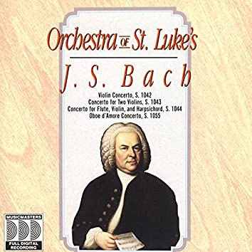 J.S. Bach: Concertos For Flute, Violin And Oboe d'Amore