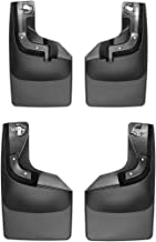 WeatherTech Custom MudFlaps for Ford Super Duty - Front & Rear Set Black (110065-120065)