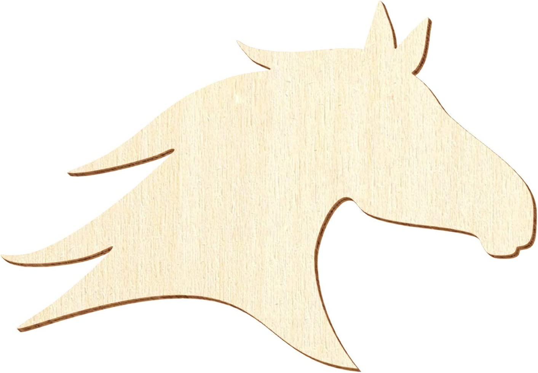 3-50cm Breite Basteln Deko Holz Bullenkopf