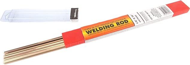 Forney 48571 Super Sil Flo Brazing Rod, 1/8-Inch, 1/2-Pound