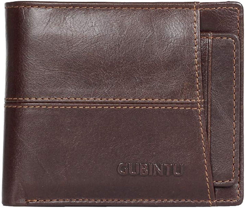 Herren Brieftasche RFID Sperrung Leder Leder Leder Krotitkarte Brieftasche Schlanke Brieftasche   Reisebrieftasche Einfache Mini Brieftasche Herren Geschenk B07PNH1HPJ a5c699