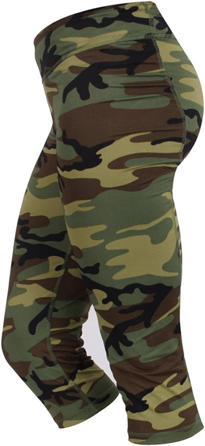Other Womens Camo Workout Performance Capris