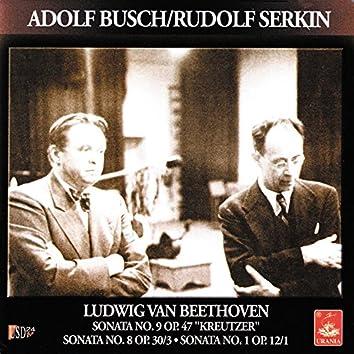 Beethoven; Sonata for Violin and Piano Nos. 1, 8, 9