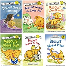 I Can Read Biscuit Beginning Reading Six Book Set : Biscuit Goes Camping, Biscuit in the Garden, Biscuit Meets the Class Pet, Biscuit Plays Ball, Biscuit Wants to Play, Biscuit Wins A Prize