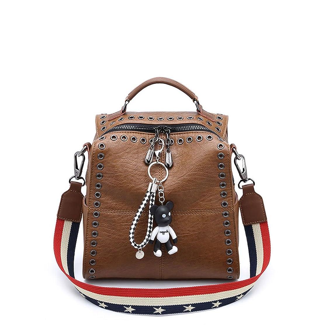 統合農学動かないDOODOO レディース リュック ミニ バックパック PUレザー ポシェット Mini Rucksack Bag for Women