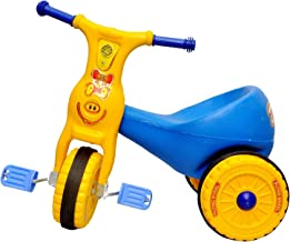 Toyshine Ducky Baby Tricycle Ride-on Bicycle, ABS Plastic, Unbreakable, Blue, 1-2 Years - 2