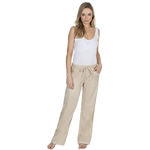 top-rated quality buy good factory outlets Linen Trousers Women: Amazon.co.uk