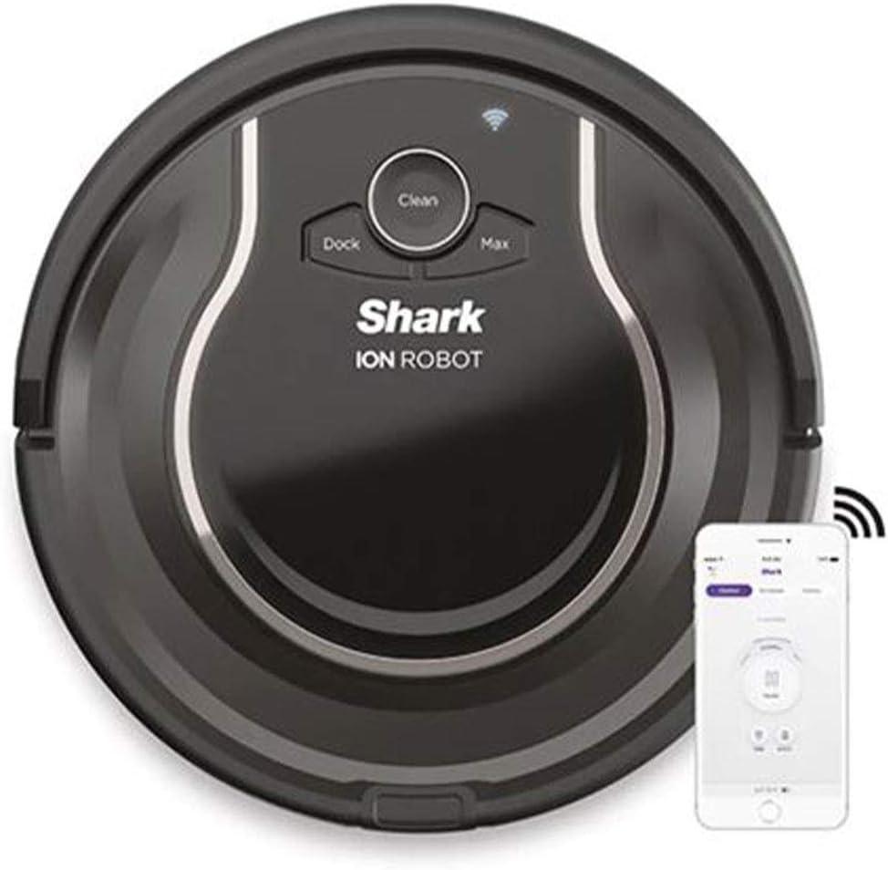 Shark RV750_N ION Robot 爆買い新作 卓抜 Vacuum Wi-Fi Automatic Cleaner Renewed