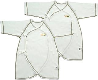 ベビーストーリー あったか厚手素材 2枚組 コンビ肌着 50cm ~ 60cm N60048-2 日本製