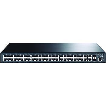 TP-LINK TL-S3452 48+ 4G Gigabit-Ascendente L2 Switch Gestionado, 48 puertos de 10/100, 2 puertos 10/100/1000M y 2 opciones de expansión SFP