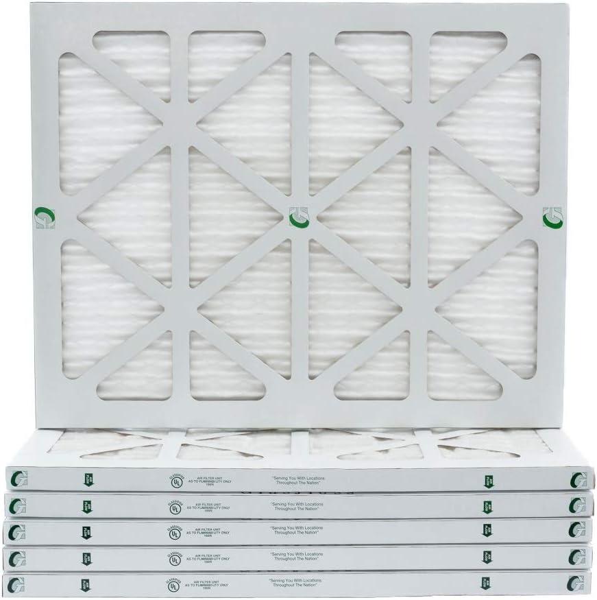 16x20x1 Arlington Mall MERV Ranking TOP10 10 AC Furnace Air Actual 12. of Case Siz Filters.