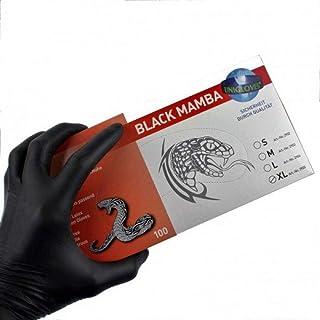 S-XL Bad Company MMA Handschuhe Black Mamba I Trainingshandschuhe ohne Finger I Gr