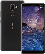 Nokia 7 Plus TA-1046 Dual Sim 64GB/4GB (Black) - Factory Unlocked - International Version - No Warranty in The USA - GSM ONLY, NO CDMA - Android One
