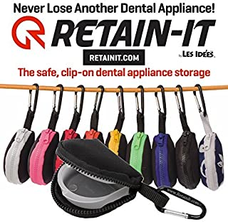 retainer case with clip