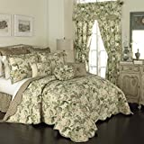 Waverly Spring Bling Bedspread Collection, Queen