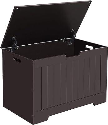 Stupendous Amazon Com Costzon Toy Storage Chest Organizer Wooden Toy Dailytribune Chair Design For Home Dailytribuneorg