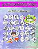 My Cute Dinosaur Colouring Toddlers: Activity And Coloring Book 50 Funny Lambeosaurus, Tyrannosaurusrex, Nodosauridae, Fossil, Pachycephalosaurus, ... Fossil For Toddlers Age 2 Picture Quiz Words