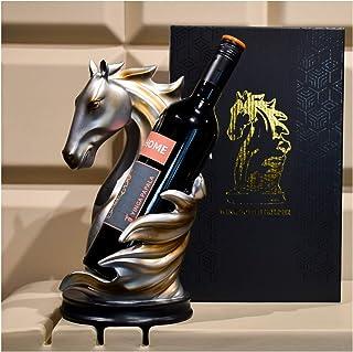 Casier à vin, Supports de Stockage de vin en Bois comptoir, Plateau de Table Pliable Support de Bouteille de vin Debout Li...