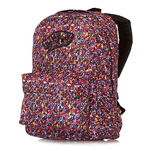 Vans Realm Backpack Mochila Tipo Casual, 42 cm, 22 Liters, Rojo (Catawba...