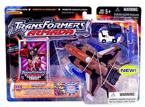 Transformers Armada-powerlinx Thrust & Inferno Mini-con