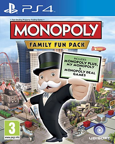 Monopoly PS-4 Family Fun Pack UK multi