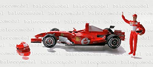 Hot Wheels J2996 Ferrari M.Schumacher INTERL.06 1 18 MODELLINO DIE CAST Model kompatibel mit