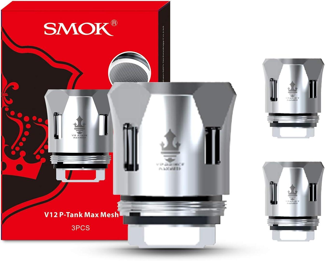 Resistencia SMOK TFV12 Prince Max Mesh 0.17 ohm (Paquete de 3) Sin nicotina ni tabaco