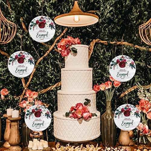 BBQQ 20PC 2020 Christmas Ornament Keepsake Married Mr & Mrs Gift Wedding Anniversary, Christmas Decorations Tree Ornaments Skirt Topper Lights Pajamas for Family