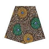 Superwachsstoff für Kleider mit afrikanischem Wachsdruck,