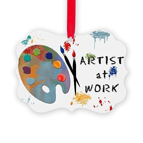 Artist Christmas Ornaments.Art Christmas Ornaments Amazon Com