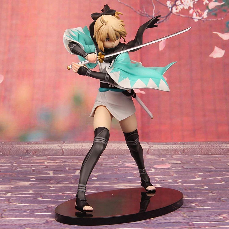 Mejor precio Personaje del del del Juego De Anime Noche De Destino Modelo De Estatua De SEBA Ornamento De PVC 24 Cm CQOZ  a la venta