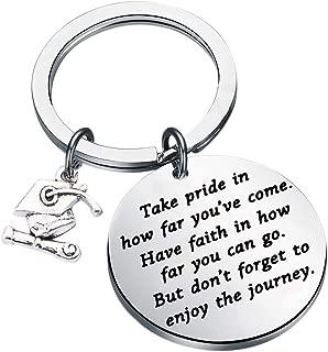 💫Key Ring-Graduation Keychain Best Gift for Women Men Students Pendant Key Rings Memories Gift