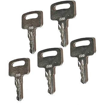 Ignition Keys 455 Fit for Genie Skyjack Terex Snorkel Manlift Upright Scissor Lift Boom Lifts zt truck parts 5