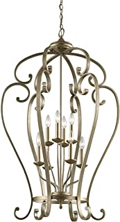 Kichler 43167SGD Eight Light Foyer Chandelier