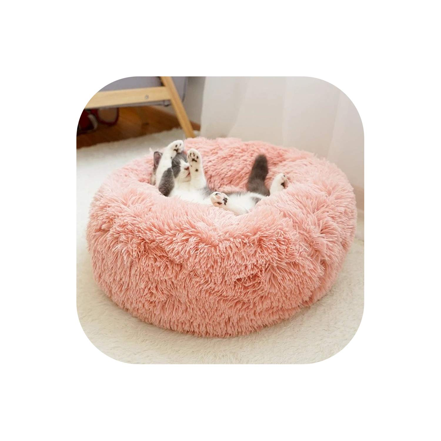 Free Crochet Cat Bed Patterns to make, cat caves, donuts, pouffes ... | 1500x1500