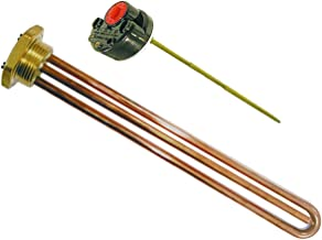 Kippen 5024C - Set bestaande uit weerstand en thermostaat, 1200 watt