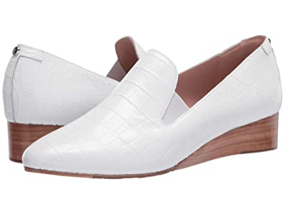 Taryn Rose Claudia (White Croco) Women