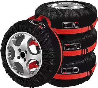 Custodia protettiva per pneumatici di scorta con l/'immagine di una tigre in similpelle