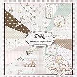 Dayka Trade Kit de Scrapbooking Niña 20x20cm
