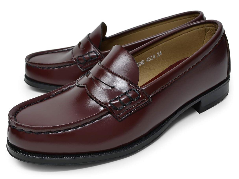 嬉しいです縮れた後方に[ハルタ] ローファー 学生靴 4514 人工皮革 レディース ブラック ブラウン ローター 22.5cm~25.5cm