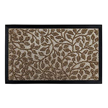 gbHome GH-6763A Premium Quality Indoor Mat | 18 x 30 inches | Interior Doormat with Anti-Skid Rubber Back | Water Absorbent, Stain Resistant, Quick Drying, Easy to Clean, Low Profile Door Mat