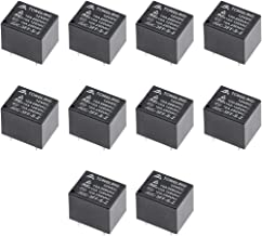 uxcell 10 Pcs JQC-3FF-S-Z DC 12V Coil SPDT 5Pins PCB Electromagnetic Power Relay