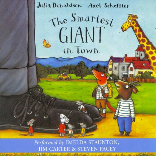The Smartest Giant in Town                   Auteur(s):                                                                                                                                 Julia Donaldson                               Narrateur(s):                                                                                                                                 Imelda Staunton,                                                                                        Jim Carter,                                                                                        Steven Pacey                      Durée: 20 min     Pas de évaluations     Au global 0,0
