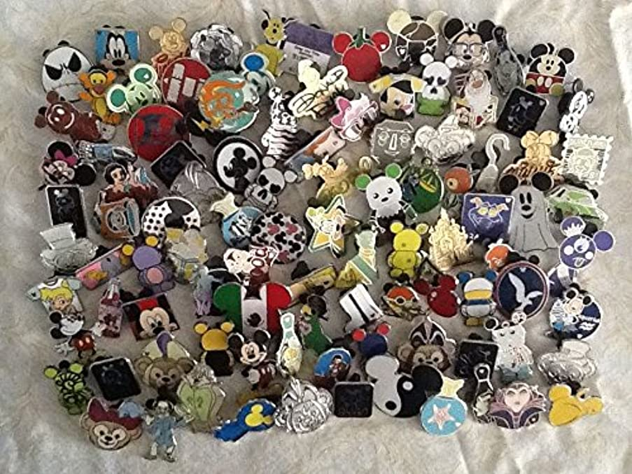 Disney Trading Pin 100 lot NO DUPLICATES Fast Priority Shipping by US Seller