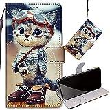 YIIZY Coque pour Nokia 5.4 Etui Housse en Cuir PU Portefeuille Clapet avec...