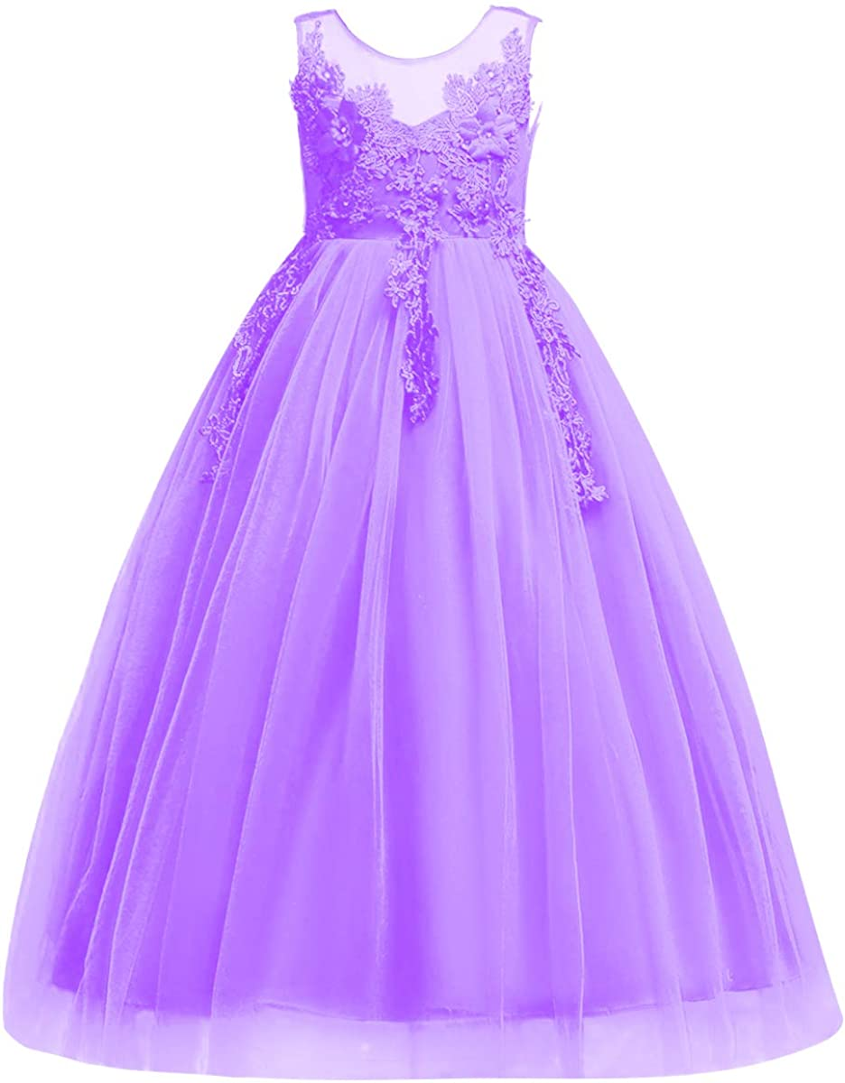 Little Opening large release sale Big Fresno Mall Girl Flower Tulle Pageant Par Birthday Dress Princess