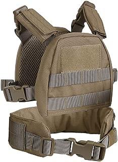 Kids Mini Airsoft Tactical Vest with Patrol Belt Molle Combat Vest XS/S Child Vest Suit