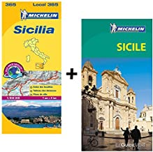 Guide Vert Sicile [ Green Guide in French - Sicily ] (French Edition) by Michelin Travel Publications (2015-02-14)